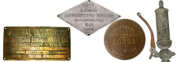 Railroad Locomotive / Engine Items