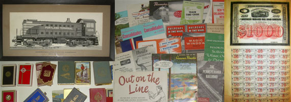 Railroad Paper Items & Ephemera