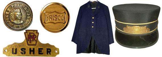 Railroad Uniform Items
