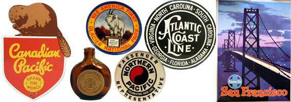 Railroad Advertising, Signs, & Promotional Items