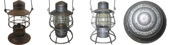 """A&W """"Adams"""" Lanterns"""