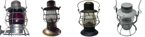 Dietz Tall Globe Lanterns - No. 6, No. 39, Steel-Clad, Vulcan, Empire, & X.L.C.R.